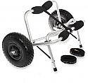 Outer Banks Wheeleez Tuff Tire Kayak Cart